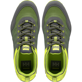 Helly Hansen Varde Trail Chaussures Homme, charcoal/azid lime/ebony/light green